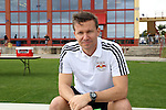 11 January 2015: New York Red Bulls head coach Jesse Marsch. The 2015 MLS Player Combine was held on the cricket oval at Central Broward Regional Park in Lauderhill, Florida.