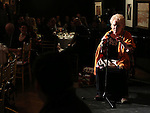 Tammy Grimes performs at the '12th Annual Love N' Courage' celebrating David Amram and Tammy Grimes at The National Arts Club on March 2,, 2015 in New York City.