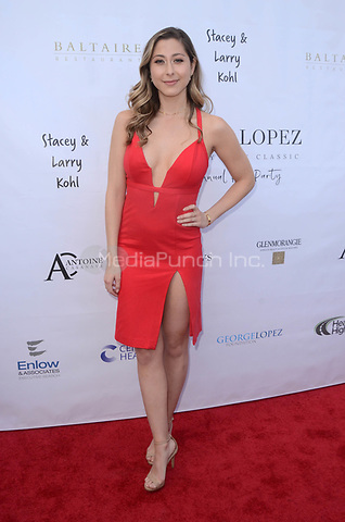 LOS ANGELES, CA - MAY 6: Lizzy Small at the 11th Annual George Lopez Foundation Celebrity Golf Classic Pre-Party, Baltaire Restaurant, Los Angeles, California on May 6, 2018. David Edwards/MediaPunch