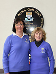 The new lady captain Vivienne Meade with Lady President Anne McDonnell at Ardee Golf Club. Photo:Colin Bell/pressphotos.ie