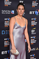 Johanna Konta<br /> arriving for the BT Sport Industry Awards 2018 at the Battersea Evolution, London<br /> <br /> ©Ash Knotek  D3399  26/04/2018