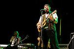 Ian Anderson and John O'Hara, Jethro Tull concert in Caesarea, Israel