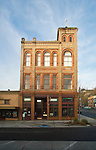 Port Townsend, Miller and Burkett Building, also Elks Building, Victorian architecture, Port Townsend Historic District, Olympic Peninsula, Washington State, Pacific Northwest, Silverwater Cafe, Starlight Cinema,
