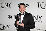 Steve Kazee pictured at the 66th Annual Tony Awards held at The Beacon Theatre in New York City , New York on June 10, 2012. © Walter McBride / WM Photography