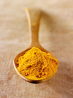Turmeric spice powder