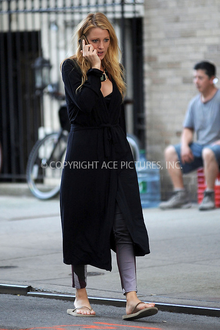 WWW.ACEPIXS.COM . . . . . .August 28, 2012, New York City....Blake Lively on the set of Gossip Girl on August 28, 2012 in New York City....Please byline: KRISTIN CALLAHAN - ACEPIXS.COM.. . . . . . ..Ace Pictures, Inc: ..tel: (212) 243 8787 or (646) 769 0430..e-mail: info@acepixs.com..web: http://www.acepixs.com .