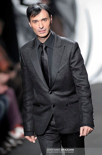 Italian fashion designer Gianni Molaro featured at Rome Fashion Week,Fashion show. Presentation of S/S 2013.Italian Haute Couture collection, January 27, 2013
