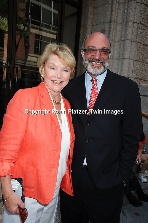 Erika Slezak and Brian Frons..at The One Life to Live 40th Anniversary luncheon on     July 15, 2008 at their studio in New York City. ....Robin Platzer, Twin Images