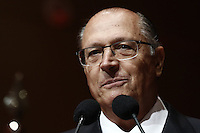 SÃO PAULO, SP, 21.11.2016 - LIDE-SP - Geraldo Alckmin, governador de São Paulo durante durante almoço-debate com o presidente do Uruguai Tabaré Vázquez promovido pelo LIDE (Grupo de alicerces Empresariais) no hotel Grand Hyatt, na tarde desta segunda-feira, 21. (Foto: Adriana Spaca/Brazil Photo Press)