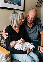 Levi Jacob Nager birth at St. Joseph Hospital in Denver, Colorado, Sunday, September 2, 2018 at 4:46PM. <br /> <br /> Photo by Matt Nager