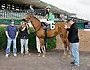 Dublin Da'bet winning at Delaware Park on 10/27/12.1700th Career win for Daniel Centeno.