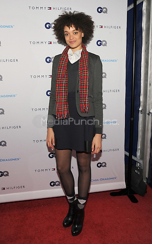 New York, NY- December 11: Britne Oldford  attends the Tommy Hilfiger and GQ event honoring The Men Of New York at the Tommy Hilfiger Flagship on December 11, 2014 in New York City. Credit: John Palmer/MediaPunch