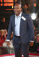 Evander Holyfield at Celebrity Big Brother 2014 - Contestants Enter The House, Borehamwood. 03/01/2014 Picture by: Henry Harris / Featureflash