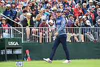 Bernd Wiesberger (AUT) approaches the tee on 17 during round 4 of the 2019 US Open, Pebble Beach Golf Links, Monterrey, California, USA. 6/16/2019.<br /> Picture: Golffile | Ken Murray<br /> <br /> All photo usage must carry mandatory copyright credit (© Golffile | Ken Murray)