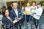 Pictured at the launch of Taste Kerry at IT Tralee onTuesday were More Murrell, CEO of Kerry County Council, TJ O'Connor, Chairperson of Taste Kerry, Orla McGowan, Bacus Bakery, Maja Binder, Dingle Pinsula Cheese, John Paul O'Connor, Sasta Saugues and Paul Syack, Quinlans Fish.