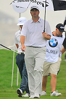 Ryan Palmer (USA) on the 2nd tee during Thursday's Round 1 of the 2014 BMW Masters held at Lake Malaren, Shanghai, China 30th October 2014.<br /> Picture: Eoin Clarke www.golffile.ie