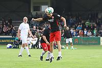 Kopfball Lothar Sippel (Eintracht) - 16.05.2018: SCV Legenden gegen Eintracht Frankfurt Traditionsmannschaft, Sportfeld Süd Griesheim