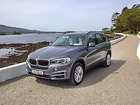 The BMW X5 photographed along the Wild Atlantic Way in County Kerry.<br /> Picture by Don MacMonagle<br /> <br /> <br /> repro free photo