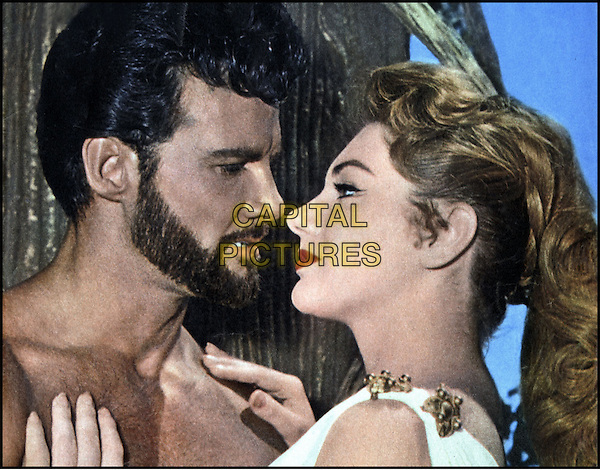 STEVE REEVES & SYLVA KOSCINA.in Le fatiche di Ercole (1958).*Filmstill - Editorial Use Only*.CAP/STF/PEL.Supplied by Capital Pictures.