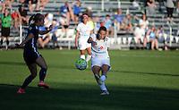 Kansas City, MO - Sunday September 04, 2016: Mandy Laddish during a regular season National Women's Soccer League (NWSL) match between FC Kansas City and the Sky Blue FC at Swope Soccer Village.