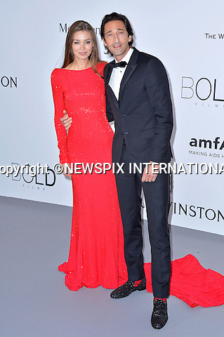 12.05.2015, Antibes; France: ADRIEN BRODY AND LARA LIETO<br /> attend the Cinema Against AIDS amfAR gala 2015 held at the Hotel du Cap, Eden Roc in Cap d'Antibes.<br /> MANDATORY PHOTO CREDIT: &copy;Thibault Daliphard/NEWSPIX INTERNATIONAL<br /> <br /> (Failure to credit will incur a surcharge of 100% of reproduction fees)<br /> <br /> **ALL FEES PAYABLE TO: &quot;NEWSPIX  INTERNATIONAL&quot;**<br /> <br /> Newspix International, 31 Chinnery Hill, Bishop's Stortford, ENGLAND CM23 3PS<br /> Tel:+441279 324672<br /> Fax: +441279656877<br /> Mobile:  07775681153<br /> e-mail: info@newspixinternational.co.uk