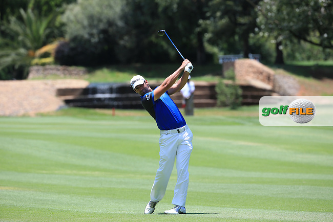Lee Slattery (ENG) in action during Round Three of the 2016 BMW SA Open hosted by City of Ekurhuleni, played at the Glendower Golf Club, Gauteng, Johannesburg, South Africa.  09/01/2016. Picture: Golffile | David Lloyd<br /> <br /> All photos usage must carry mandatory copyright credit (&copy; Golffile | David Lloyd)