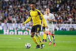 Borussia Dortmund Pierre-Emerick Aubameyang during the UEFA Champions League match between Real Madrid and Borussia Dortmund at Santiago Bernabeu Stadium in Madrid, Spain. December 07, 2016. (ALTERPHOTOS/BorjaB.Hojas)