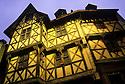 18/11/05 - THIERS - PUY DE DOME - FRANCE - Le Chateau du PIROU - Photo Jerome CHABANNE
