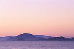 Volcan Coronado and offshore islands of Bahia de los Angeles, Baja California, Mexico