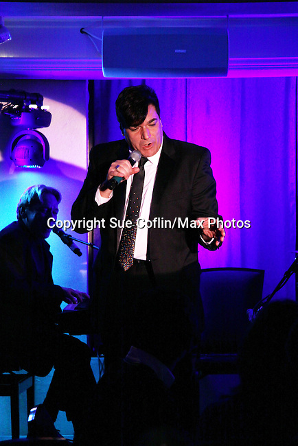 Dale Badway performs at The Times Square Broadway Royale hosted by 2013 Tony Award Winner Dale Badway on New Years Eve 2014 at the legendary Copacabana, New York City, New York. (Photo by Sue Coflin/Max Photos)