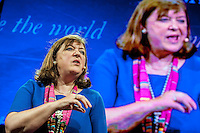 Hay on Wye, UK. Sunday 29 May 2016<br /> Pictured: Bridget Kendall <br /> Re: The 2016 Hay festival take place at Hay on Wye, Powys, Wales