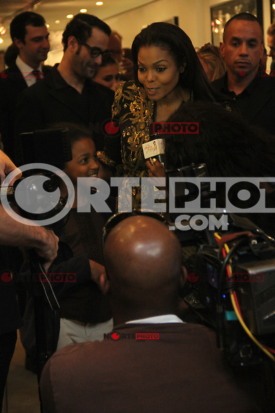 May 10, 2012: Janet Jackson attends the Famed Photographer Marco Glaviano Supermodels presentation at Keszler Gallery in New York City. Credit: RW/MediaPunch Inc.