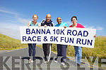 "Getting ready for the Banna 10k Road Race and 5k Fun Run"" on August 4th were:, Chris O'Shea, Dave McElligott, Shaz Malik and Annette O'Mahony."