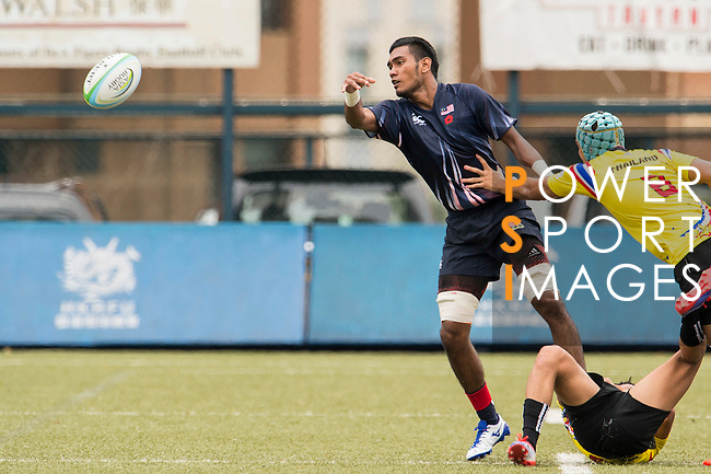The match between Malaysia and Thailand of the Asia Rugby U20 Sevens Series 2016 on 12 August 2016 at the King's Park, in Hong Kong, China. Photo by Marcio Machado / Power Sport Images