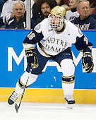 Nick Larson (Notre Dame - 26) - The University of Notre Dame Fighting Irish defeated the University of New Hampshire Wildcats 2-1 in the NCAA Northeast Regional Final on Sunday, March 27, 2011, at Verizon Wireless Arena in Manchester, New Hampshire.