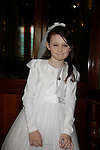 Leanna Griffin at First communion in St Marys church.<br /> Picture www.newsfile.ie