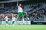 Stockholm 2014-04-14 Fotboll Superettan Hammarby IF - Degerfors IF :  <br /> Hammarbys Pablo Pinones-Arce Pinones Arce jublar efter att ha gjort 2-0 i den f&ouml;rsta halvleken<br /> (Foto: Kenta J&ouml;nsson) Nyckelord:  HIF Bajen Degerfors jubel gl&auml;dje lycka glad happy