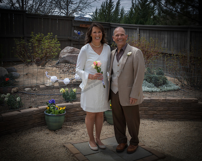 A photograph from Paul and Paulas wedding on Saturday, April 22, 2017.
