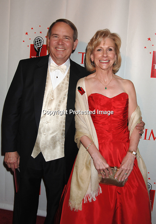Dr Nancy Cox and husband ..at Time Magazine's 100 Most Influential People ..Dinner on May 8, 2006 at Jazz at Lincoln Center at The Time Warner Center. ..Robin Platzer, Twin Images