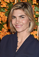 PACIFIC PALISADES, CA - OCTOBER 06: Delfina Blaquier arrives at the 9th Annual Veuve Clicquot Polo Classic Los Angeles at Will Rogers State Historic Park on October 6, 2018 in Pacific Palisades, California.<br /> CAP/ROT/TM<br /> &copy;TM/ROT/Capital Pictures
