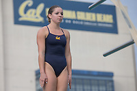 BERKELEY, CA - November 11, 2016: Cal Bears Women's Swimming & Diving team vs. Texas Longhorns at Spieker Aquatics Center. Final score, Cal Bears 148, Texas 152.