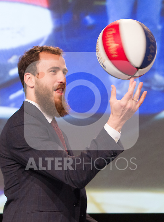 Sergio Rodriguez during presentation of the Liga Endesa playoff. May 23,2016. (ALTERPHOTOS/Rodrigo Jimenez)