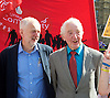 Orgreave campaigners hold Westminster rally before Home Secretary meeting<br /> 13th September 2016, Labour leader Jeremy Corbyn, Shadow Home Secretary Andy Burnham and other MPs join the Orgreave Truth and Justice Campaign <br /> Westminster, London, Great Britain <br /> <br /> <br />  Jeremy Corbyn <br /> Dennis Skinner <br /> <br /> followed by an open meeting of campaigners and politicians ahead of a private meeting with Home Secretary Amber Rudd on the campaign&rsquo;s call for a public inquiry. Hillsborough campaigner Margaret Aspinall <br /> speaks at meeting  <br /> <br /> <br /> <br /> Photograph by Elliott Franks <br /> Image licensed to Elliott Franks Photography Services