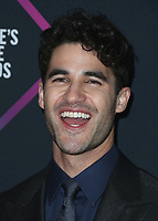 SANTA MONICA - NOVEMBER 11:  Darren Criss at the People's Choice Awards 2018 at The Barker Hangar on November 11, 2018 in Santa Monica, California. (Photo by Xavier Collin/PictureGroup)