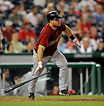 11 July 2008: Houston Astros' third baseman Ty Wigginton in action against the Washington Nationals at Nationals Park in Washington, DC. The Nationals shut out the Astros 10-0 in the first game of their 3-game series...Mandatory Photo Credit: Ed Wolfstein Photo