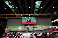 Christian Scherer, ATR&rsquo;s chief executive officer<br /> Cerimonia di consegna della 1500 fusoliera di un ATR costruita  nella Leonardo di Pomigliano D'arco<br /> <br /> Ceremony of Delivery  of 1500th   fusolage  at ATR by Leonardo plant in Pomigliano d'arco