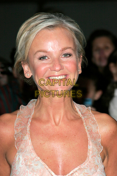 LISA MAXWELL.The Pride of Britain Awards, London Television Centre, South Bank, London, England, UK, .September 30th, 2008 .headshot portrait halterneck .CAP/AH.©Adam Houghton/Capital Pictures.
