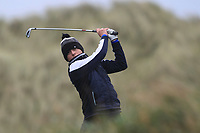 Pariac McGrath (Cregmore) on the 13th tee during Round 2 of the Ulster Boys Championship at Portrush Golf Club, Portrush, Co. Antrim on the Valley course on Wednesday 31st Oct 2018.<br /> Picture:  Thos Caffrey / www.golffile.ie<br /> <br /> All photo usage must carry mandatory copyright credit (&copy; Golffile | Thos Caffrey)