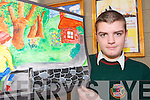 ART ATTACK: Ardfert student James Lowe who won the National Credit Union Poster Competition on Sunday last and was presented with his award at a function in Dublin.