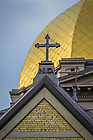 Aug. 16, 2014; Cross on the Main Building<br /> <br /> Photo by Matt Cashore/University of Notre Dame